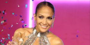 Jennifer Lopez Julien MacDonald naked dress Billboard Latin Music Awards