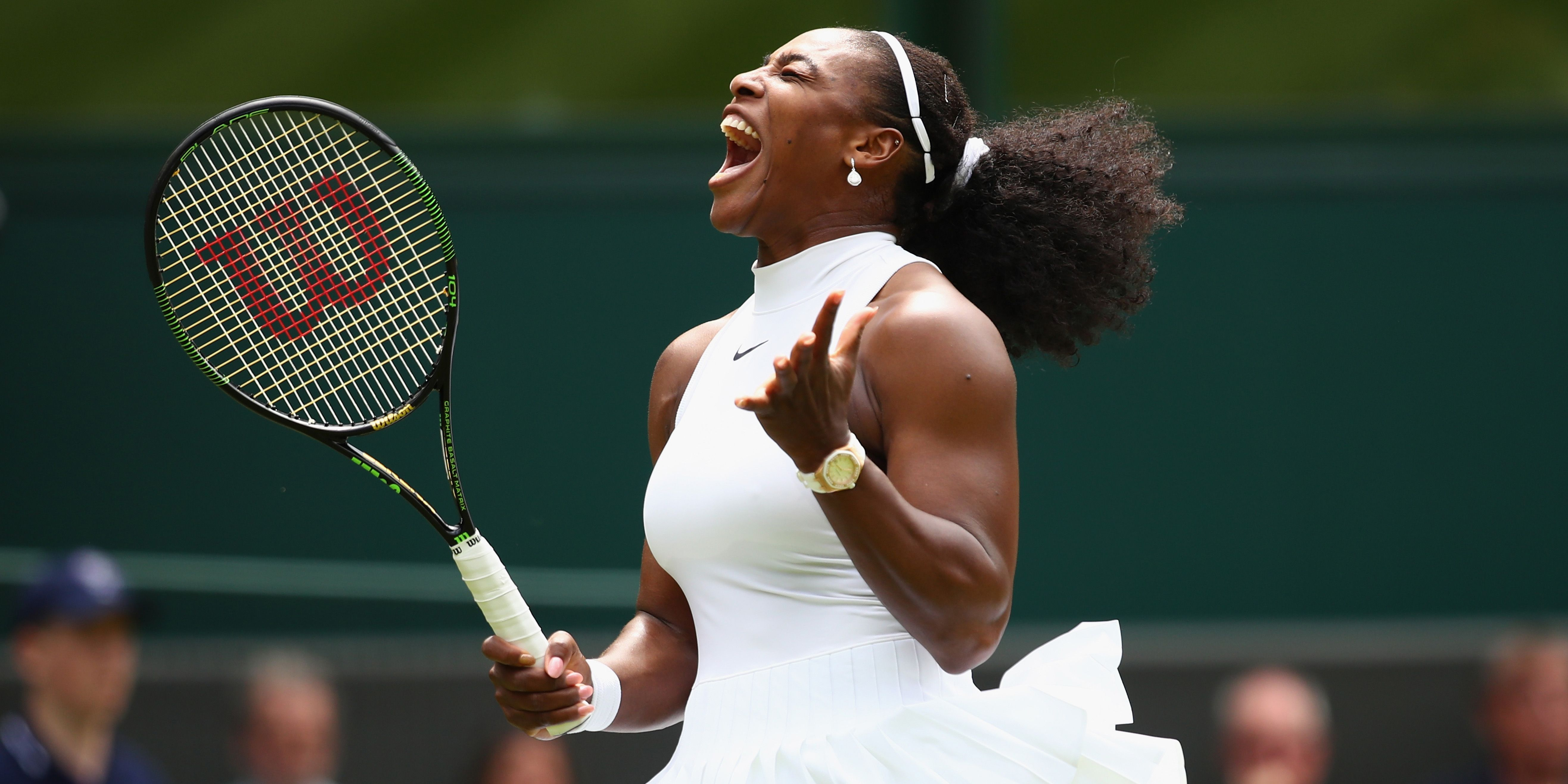 Serena Williams Playing Tennis While Pregnant Is All The Monday Motivation You Need