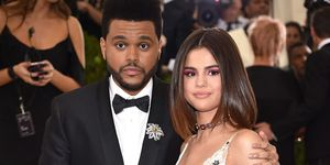selena gomez and the weeknd at the met gala 2017 | ELLE UK