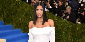 Kim Kardashian at Met Gala | ELLE UK