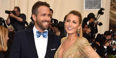 Ryan Reynolds and Blake Lively Met Gala 2017 | ELLE UK