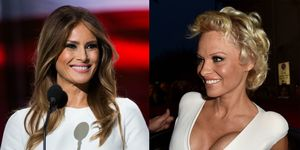 Melania And Pamela Anderson Friends