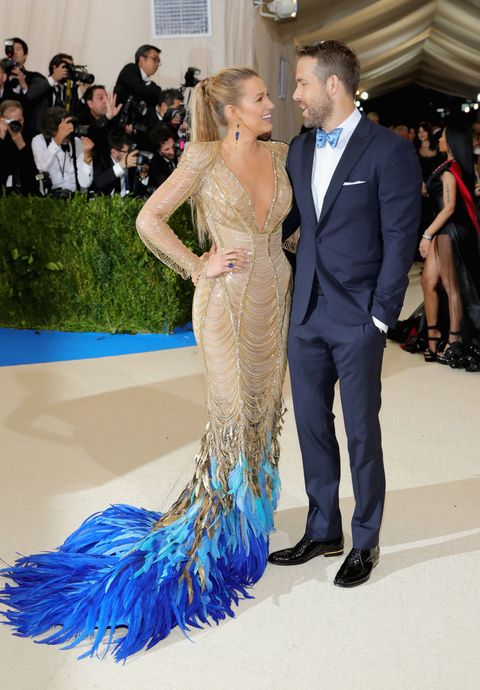 Ryan Reynolds And Blake Lively Met Gala 2017 Elle Uk