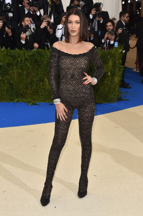 fe4c116fc8f5 Bella Hadid Turns Up The Heat In See-Through Alexander Wang Body ...