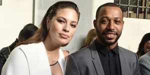 Ashley Graham and Justin Ervin | ELLE UK