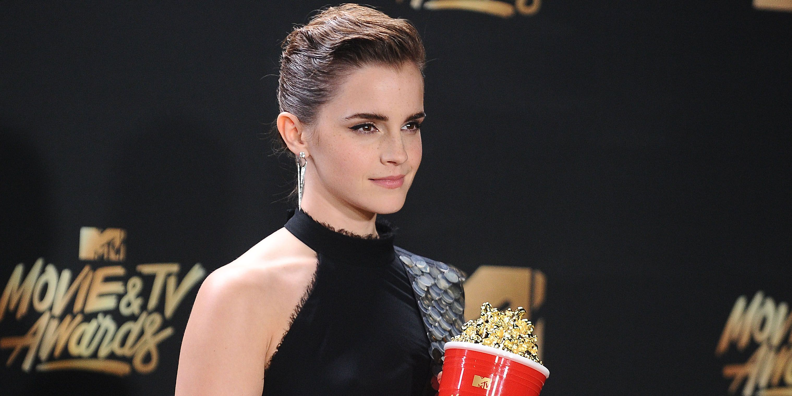 7bd7fd4d04 Emma Watson Wears Hidden Symbol At MTV Awards And Makes Important Statement  About Acceptance