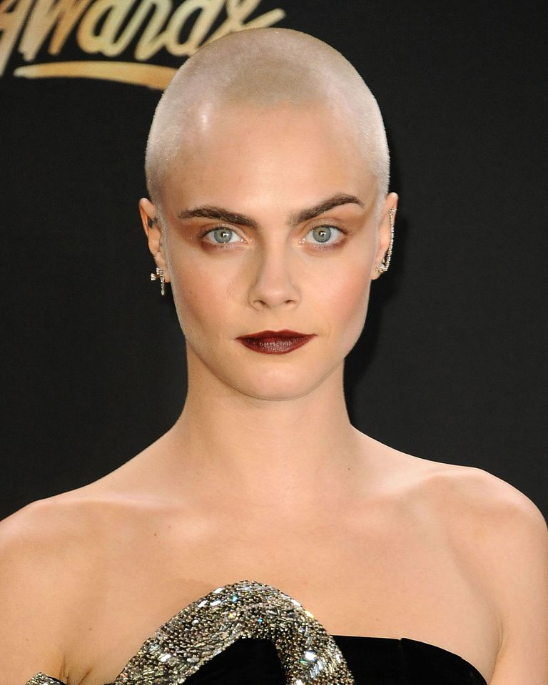 Female Celebrities With A Shaved Head - The Best Ever Buzz ...