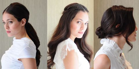 Wedding Hairstyles For Long Hair 4 Bridal Hairstyles You Can Do Yourself