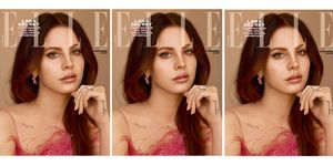 Lana Del Rey is ELLE June 2017 subscriber cover