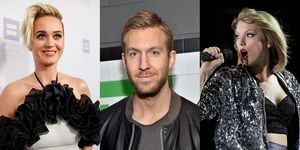 Katy Perry Calvin Harris & Taylor Swift