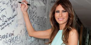 Melania Trump Writing