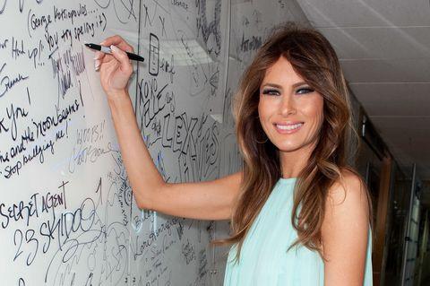 Melania Trump Writing