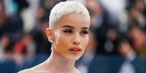 Zoe Kravitz Short Hairstyle