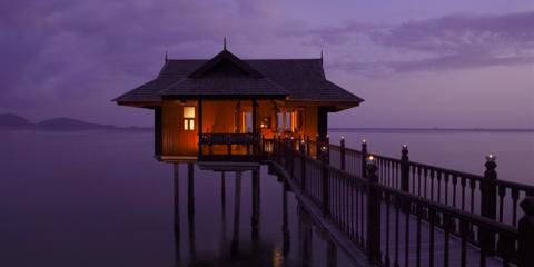 Sky, Lighting, House, Dusk, Sea, Ocean, Pier, Cloud, Evening, Calm,