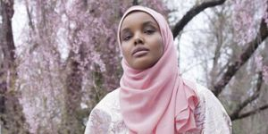 Halima Aden The Modist Fashion Campaign