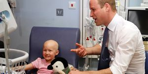 Prince William cancer patient | ELLE UK