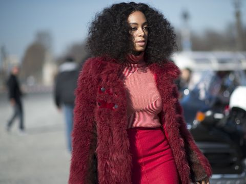 Solange Knowles fashion - street style