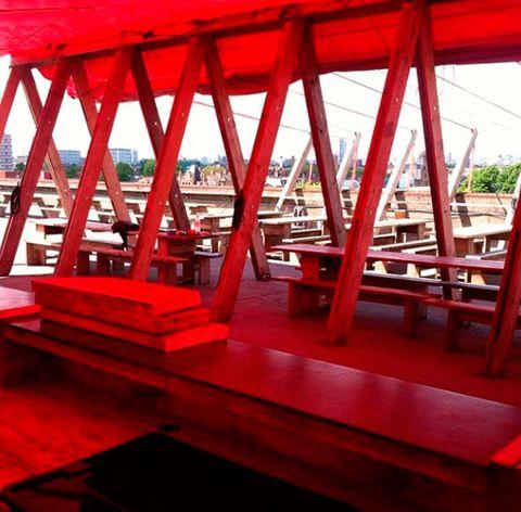 Frank's rooftop bar Peckham