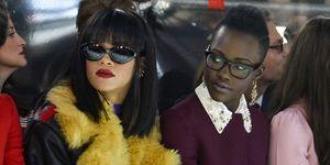 Rihanna and Lupita Nyong'o New film