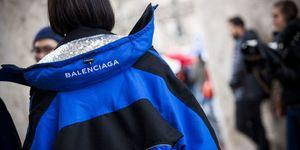 Tiffany Hsu Balenciaga street style