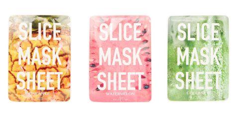 Fruit Slice Sheet Masks