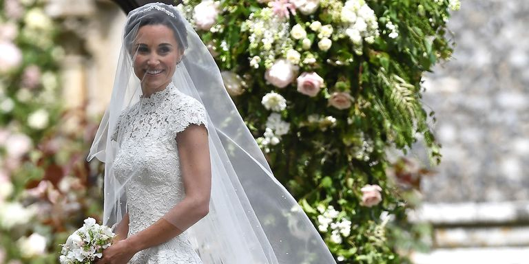 Best celebrity wedding dresses 2017 celeb bridal style pippa middleton wedding giles deacon dress junglespirit Gallery