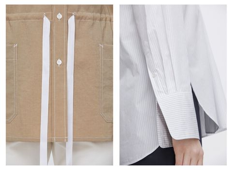 White, Clothing, Outerwear, Beige, Cardigan, Furniture, Linens, Blouse, Trousers, Jacket,