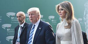Melania Trump Brussels NATO