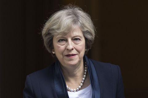 Theresa May   ELLE UK