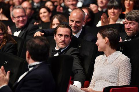 Joaquin Phoenix, Rooney Mara Cannes