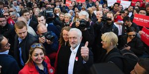Jeremy Corbyn Tours The UK On The Final Day Of The Election Campaign | ELLE UK