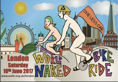World Naked Bike Ride, London