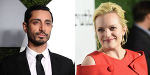 Riz Ahmed and Elizabeth Moss