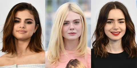 Lob Hair Mid Length Hairstyle Inspiration From The Celebs Getting