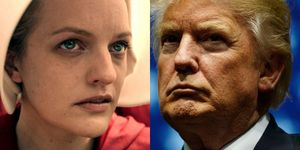 Handmaid's tale and donald trump