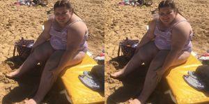 Paris Harvey beach body positive