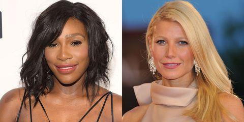 Serena Williams and Gwyneth Paltrow