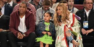 Jay Z, Blue Ivy and Beyonce | ELLE UK