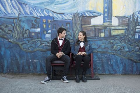 Clay and Hannah in 13 Reasons Why