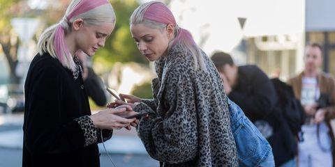 Women on phones   ELLE UK