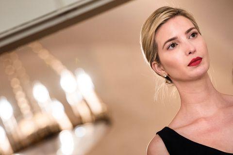 Ivanka Trump looking sad