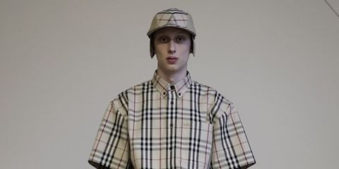 cd4d36c4f Here's Every Look From The Gosha Rubchinskiy x Burberry Collab