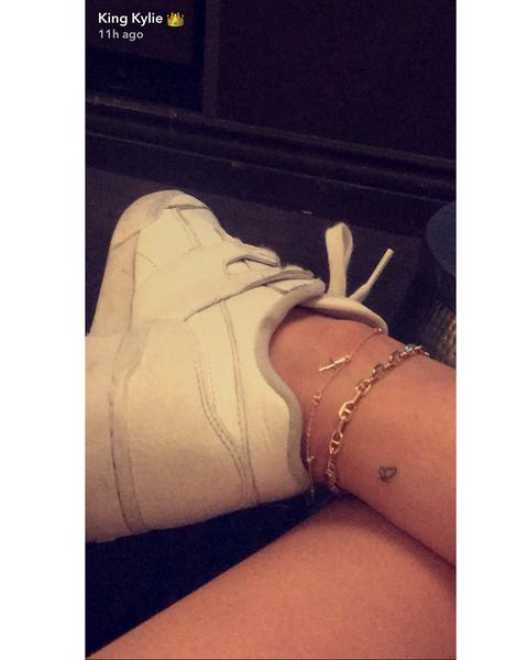 Kylie Jenner Butterfly Tattoo