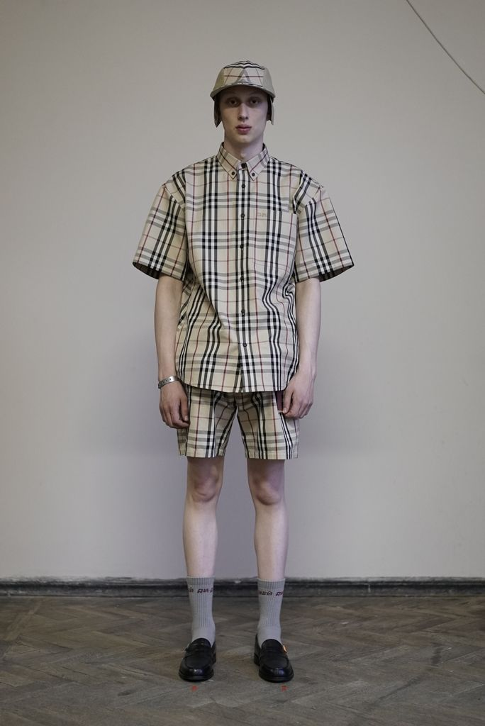 2bc236f8721 Here s Every Look From The Gosha Rubchinskiy x Burberry Collab