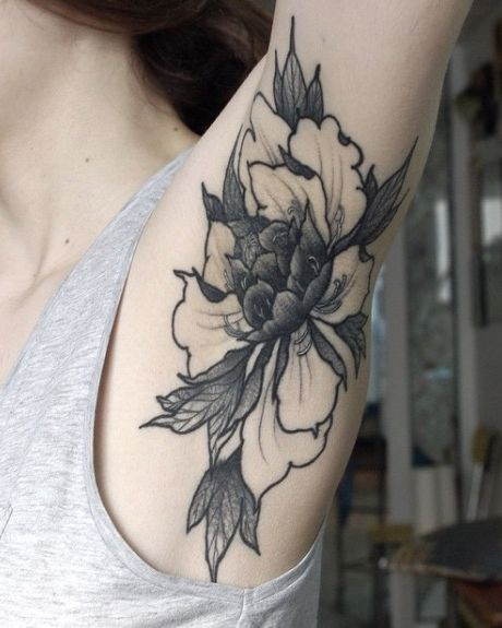 Armpit Tattoo
