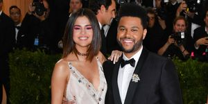 Selena Gomez is herself with The Weeknd