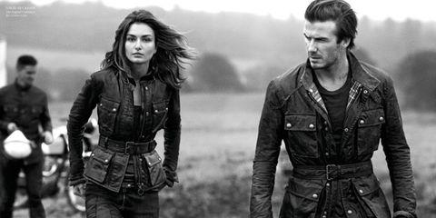 David Beckham x Belstaff