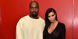 Kim and Kanye   ELLE UK