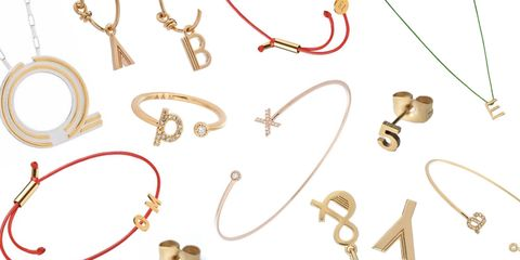 Initial Jewellery That Isn't Naff, To Give To Your Best Girls This Summer