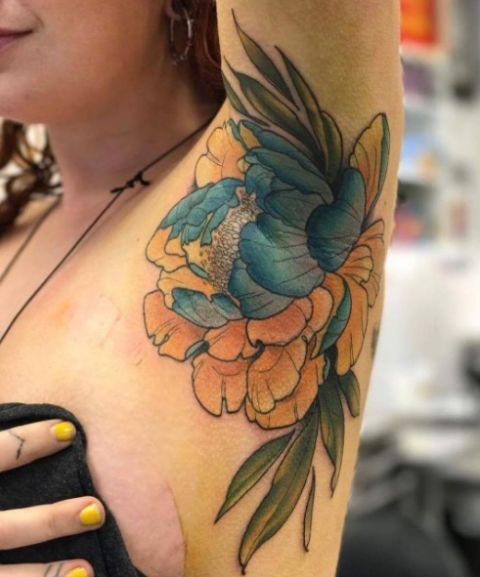 Armpit Tattoo Trend Why Armpit Tattoos Are The